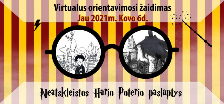 """Pramoginis virtualus online orientacinis žaidimas """"Neatskleistos Hario Poterio paslaptys"""""""